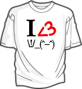 Iheart3FingersT-Shirt